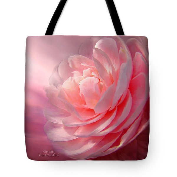 Camellia Tote Bag by Carol Cavalaris