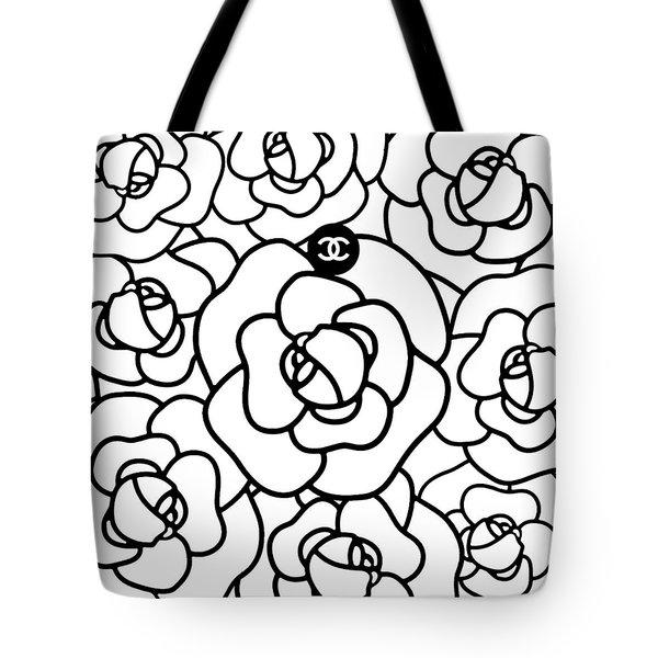 Camellia Cc Tote Bag