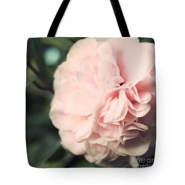 Camellia Tote Bag by Cindy Garber Iverson