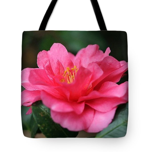 Tote Bag featuring the photograph Camellia For Mom by Ellen Barron O'Reilly