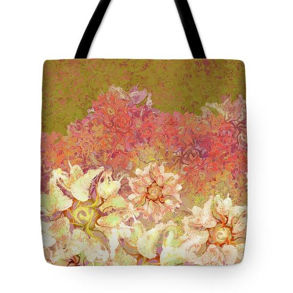 Camellia Hedges Tote Bag