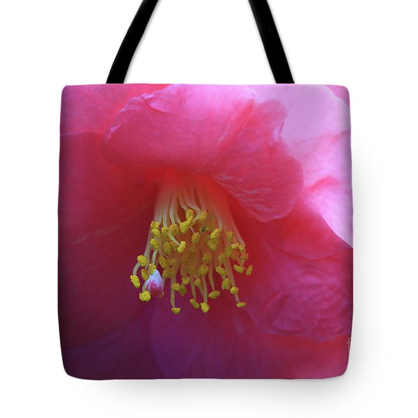 Camellia Japonica Tote Bag by Louise Heusinkveld