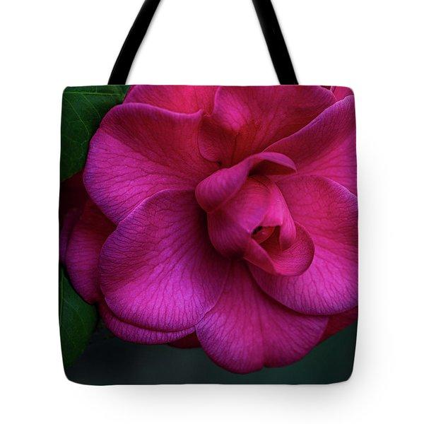 Camellia Passion Tote Bag
