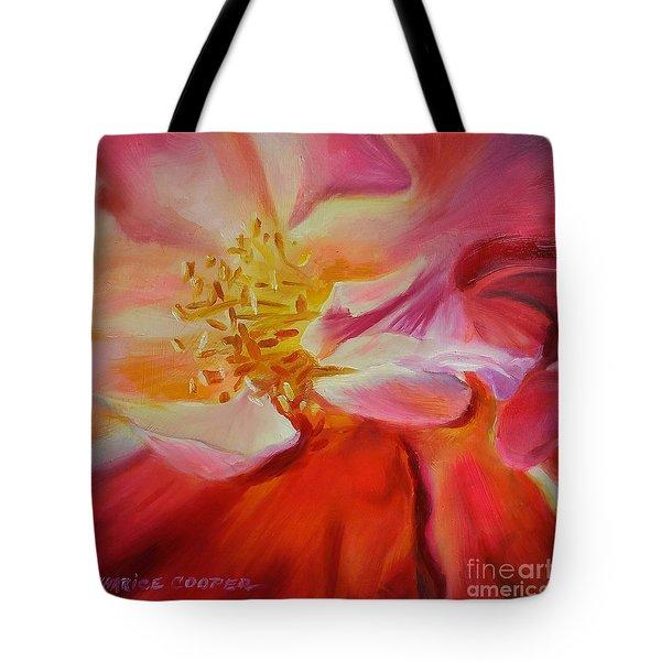 Camellia's Blush Tote Bag