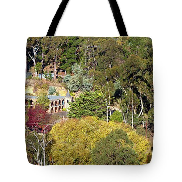 Tote Bag featuring the photograph Camelot Castle, Basket Range by Bill Robinson