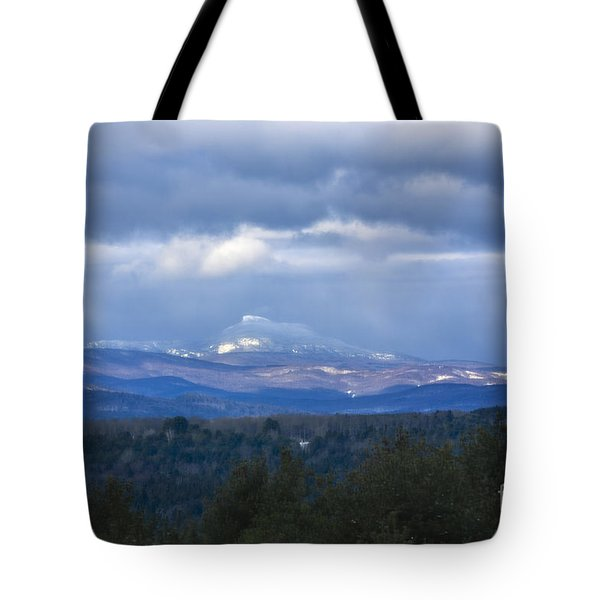 Camel's Hump Mountain  Tote Bag