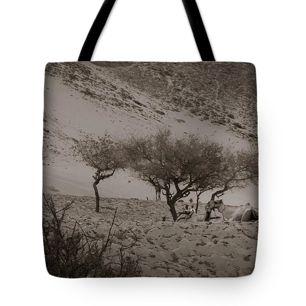 Camels Tote Bag by Silvia Bruno