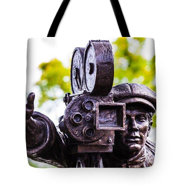 Camera Man - 3 Tote Bag