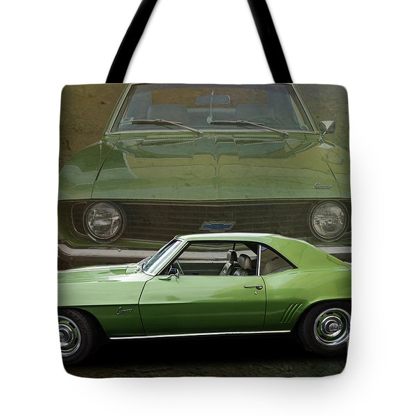 Camero Tote Bag by Jim  Hatch