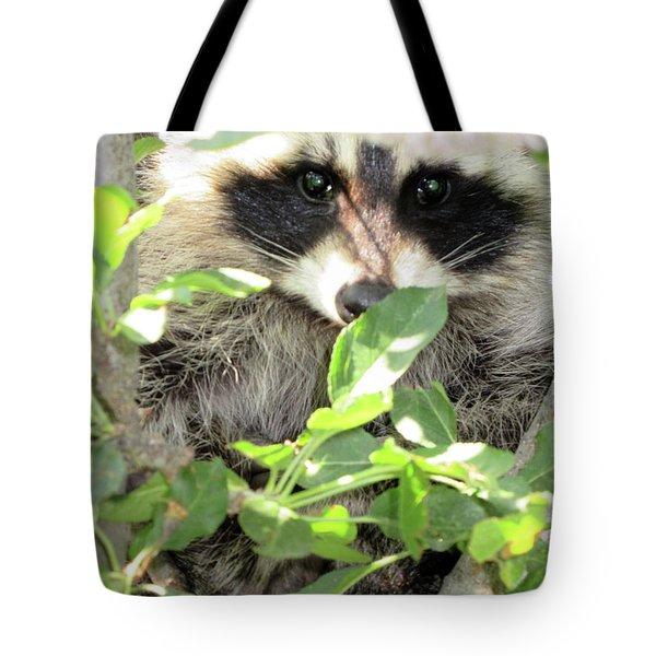 Camo Tote Bag by Maxine Grossman