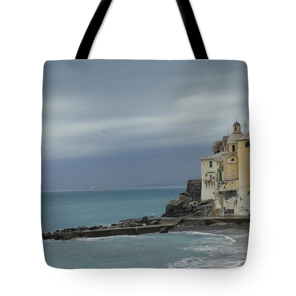 Camogli Church Tote Bag