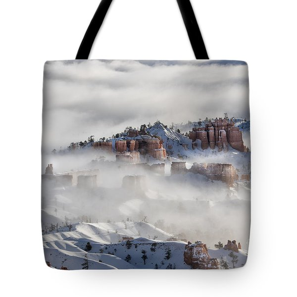 Tote Bag featuring the photograph Camouflage - Bryce Canyon, Utah by Sandra Bronstein