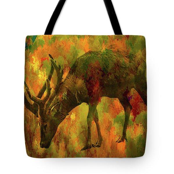 Camouflage Deer Tote Bag