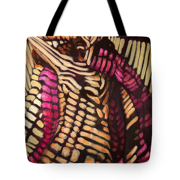 Camouflage Nap Tote Bag