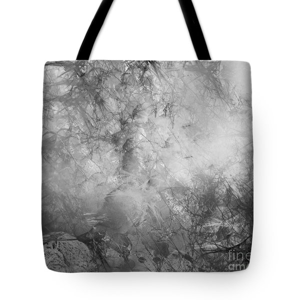Tote Bag featuring the painting Camouflage by Trilby Cole