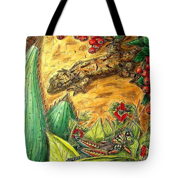 Camouflage...is It Working? Tote Bag