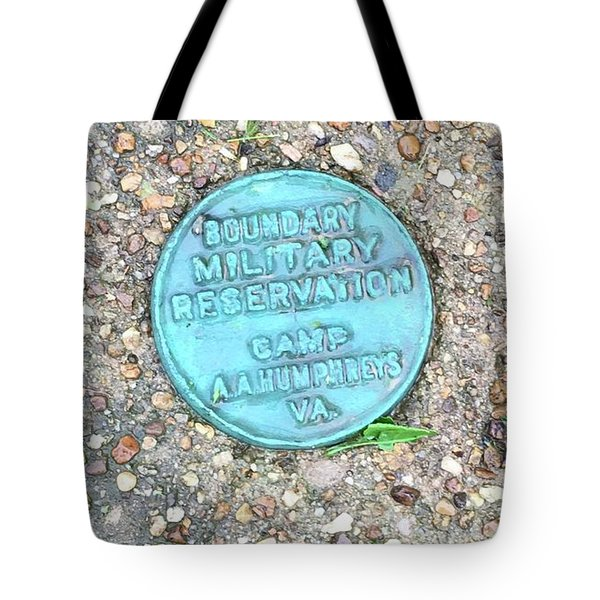 Camp A.a. Humphreys Tote Bag