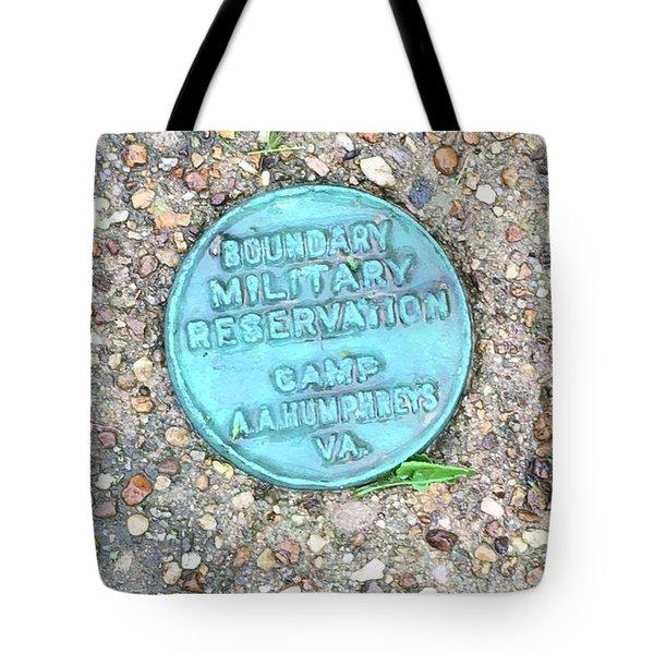 Camp A.a. Humphreys Tote Bag