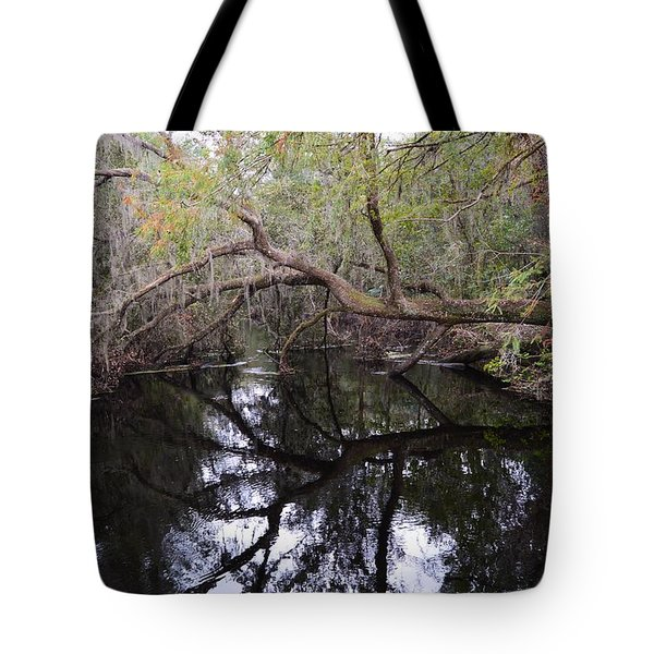 Camp Canal Tote Bag