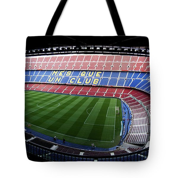 Camp Nou Tote Bag