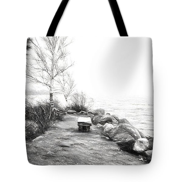 Camp Of The Woods, Ny Tote Bag