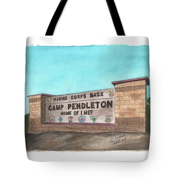 Camp Pendleton Welcome Tote Bag