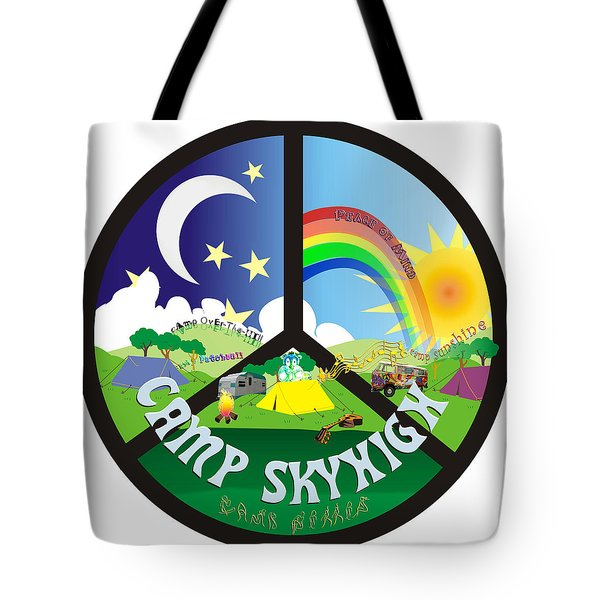 Camp Skyhigh Tote Bag by Karen Musick