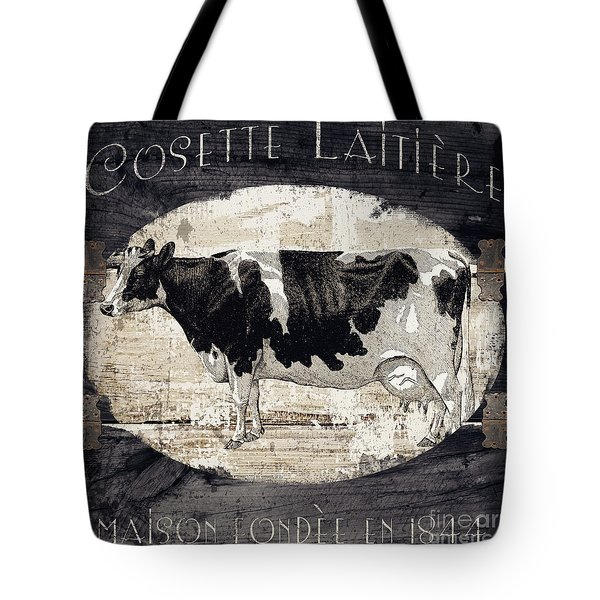 Campagne I French Cow Farm Tote Bag