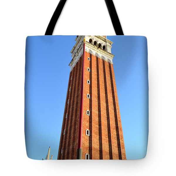 Campanile Di San Marco In Venice Tote Bag