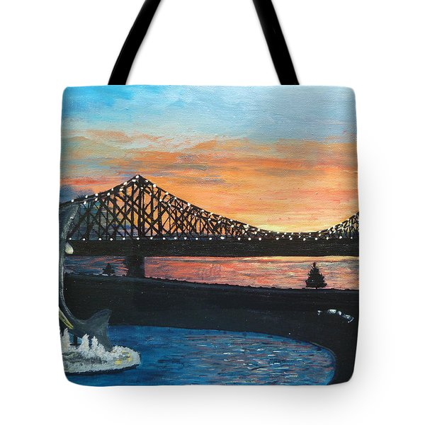 Campbellton New Brunswick Tote Bag