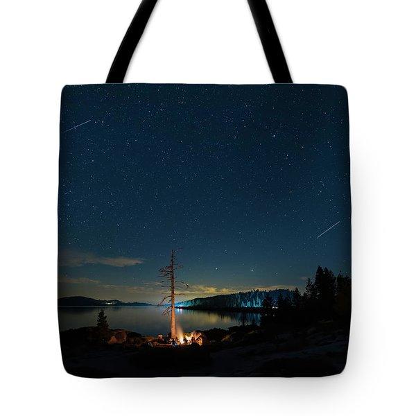 Campfire 1 Tote Bag