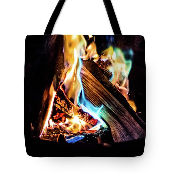 Campfire In July Tote Bag