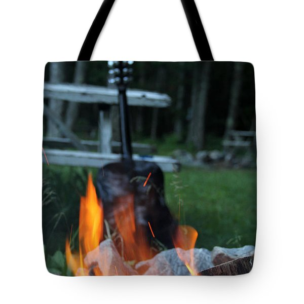 Campfire Songs Tote Bag