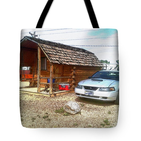 Camping These Days Tote Bag