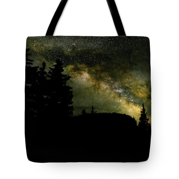 Camping Under The Milky Way 2 Tote Bag