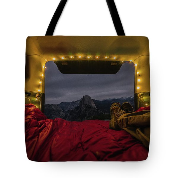 Camping Views Tote Bag