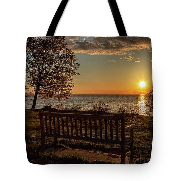 Campus Sunset Tote Bag