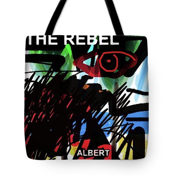 Camus The Rebel  Poster Tote Bag