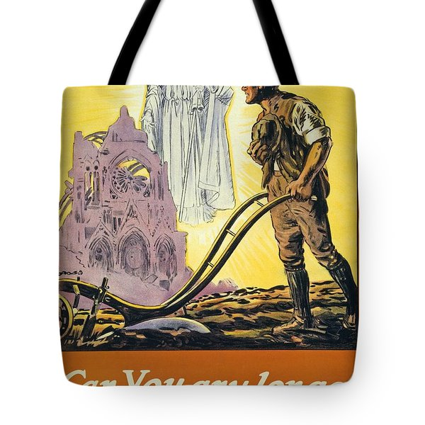 Can You Any Longer Resist The Call Tote Bag