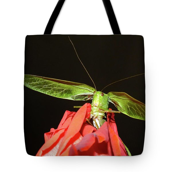 Can You Hear Me Now By Karen Wiles Tote Bag