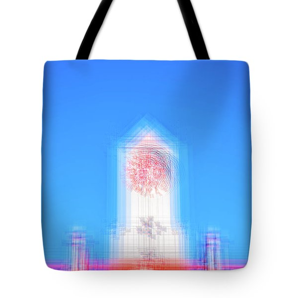 Can You Tell The Time? Tote Bag by Joseph S Giacalone