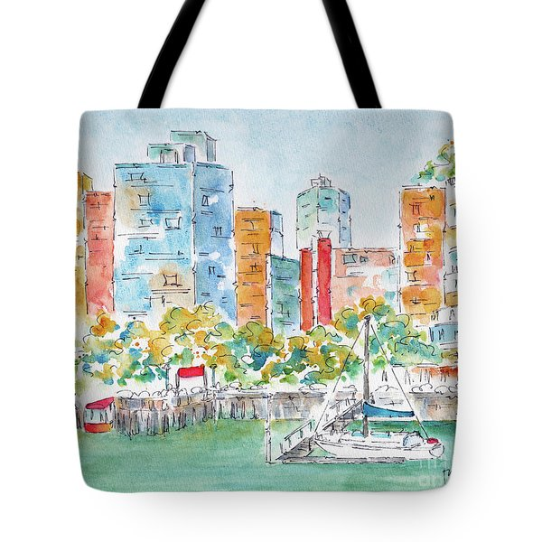 Canada 150 British Columbia Tote Bag