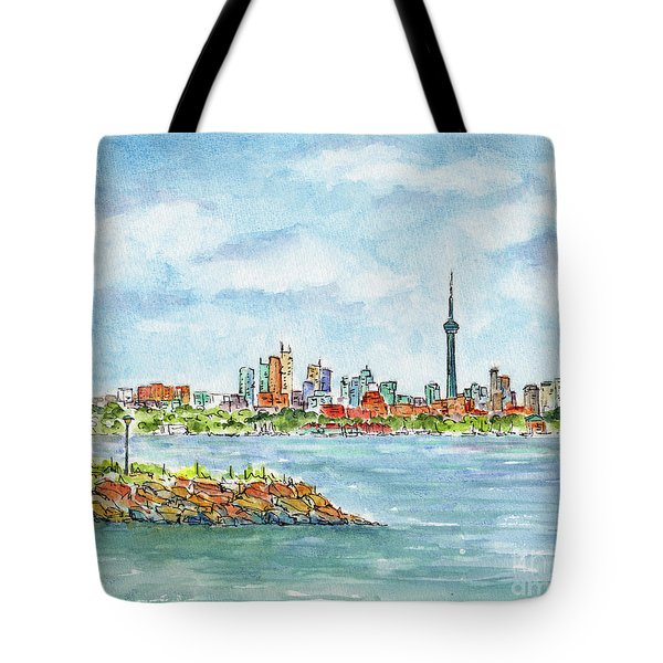 Canada 150 Ontario Tote Bag