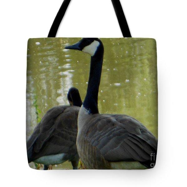 Canada Goose Edge Of Pond Tote Bag