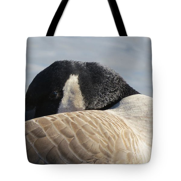 Canada Goose Head Tote Bag by Mary Mikawoz