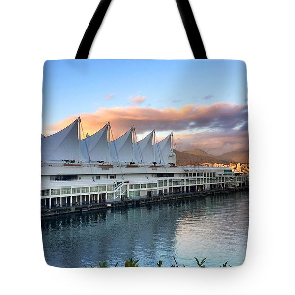 Canada Place Tote Bag