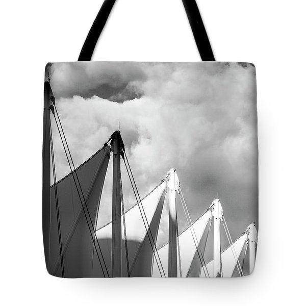 Canada Place Sails Tote Bag
