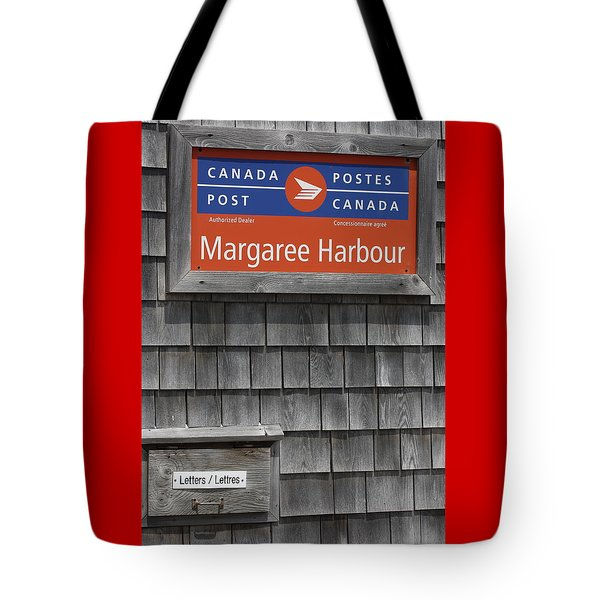 Tote Bag featuring the photograph Canada Post by Robin Regan