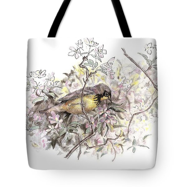 Canada Warbler Tote Bag