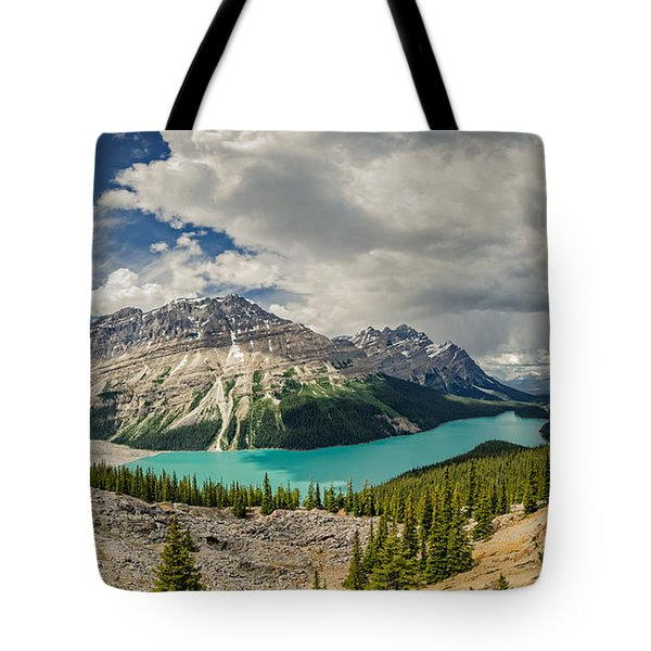 Canadian Beauty 3 Tote Bag by Thomas Born